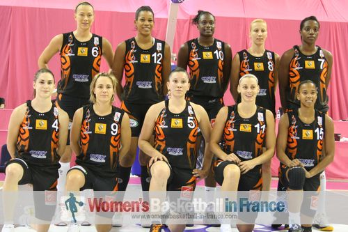 Bourges Basket - 2011-2012 ©  womensbasketball-in-france.com