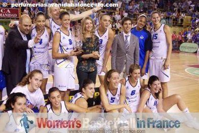 Perfumerias Avenida 2011 FIBA Europe Super Cup winners ©  perfumeriasavenida.com