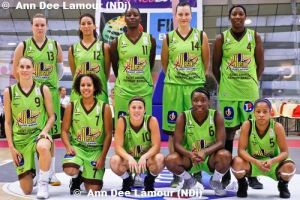 Hainaut Basket - 2011-2012 team picture ©  womensbasketball-in-france.com