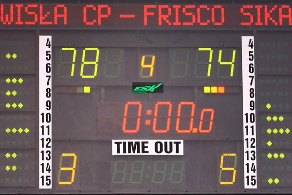 Wisla Can-Pack Scoreboard © Krzysztof Porębski