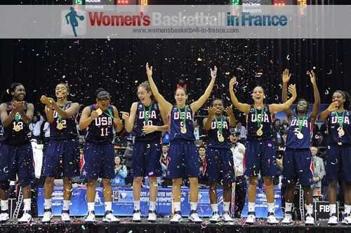 USA 2011 U19 FIBA Women World Champions  © FIBA