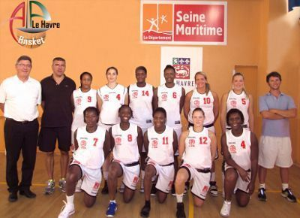 AL Aplemont Le Havre 2011 pre-season picture   ©  AL Aplemont Le Havre