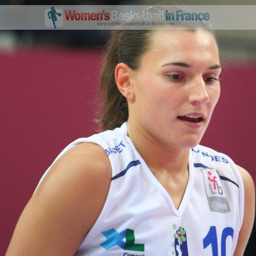 Amélie Pochet  © womensbasketball-in-france