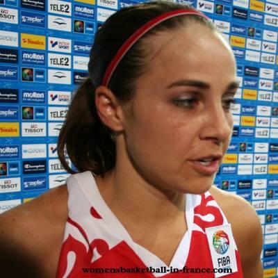 Becky Hammon at EuroBasket 2009   © womenbasketball-in-france.com