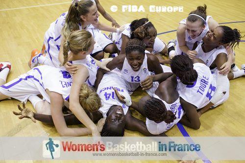 France U18 players the at the FIBA Europe 2012 U18 European Championship final © FIBA Europe