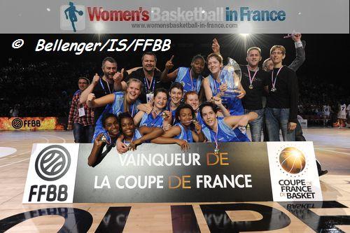 2013 cadettes coupe de france chalon sur sa ne are the champions - Live coupe de france basket ...