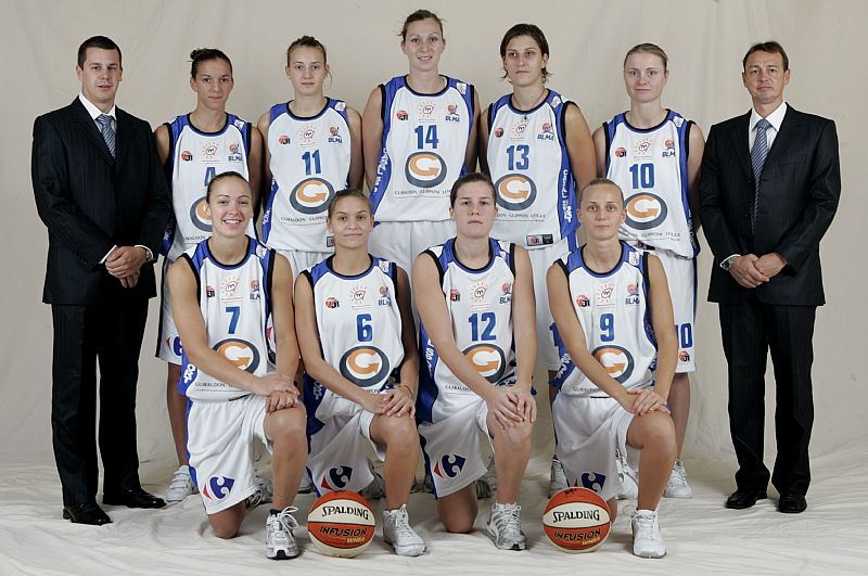 Lattes-Montpellier 2008-2009 ©  Ligue Féminine de BasketBall