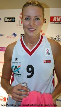 Aija Putnina< at the open LFB 2000 &copy; womensbasketball-in-france.com