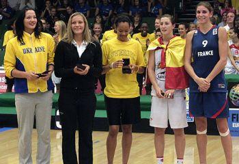 Silver medal for France U18 - Spain © FIBA Europe - Ulrich Schulte