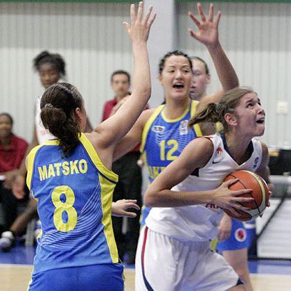 Allison Verneray playing for France U18 in Södertälje  © FIBA Europe - Ulrich Schulte