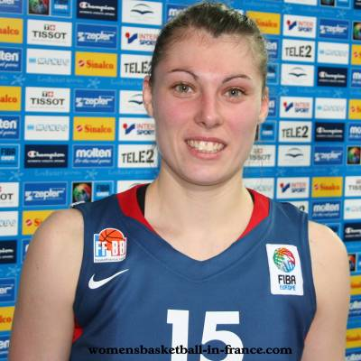 Anaël Lardy at EuroBasket Women 2009 © womensbasketball-in-france
