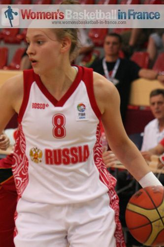 Anastasia Borovykh © womensbasketball-in-france.com