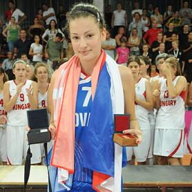 Angelika Slamová - MVP © FIBA Europe