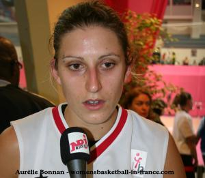 Aurélie Bonnan (USO Mondeville) © womensbasketball-in-france.com