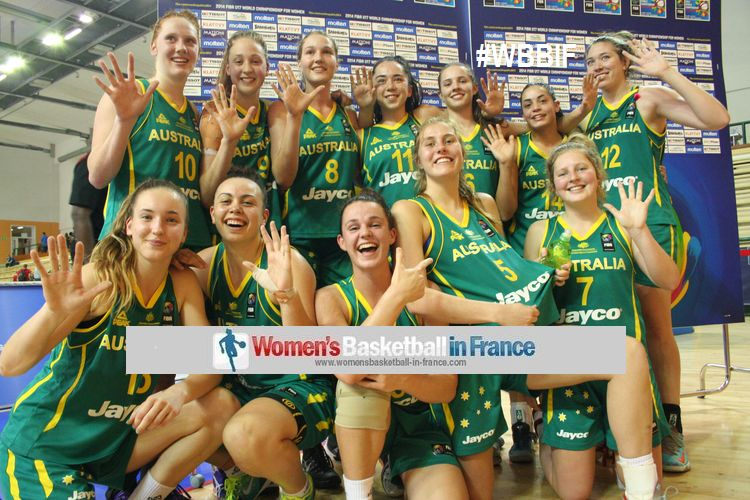 Australia u17 claim 5th place as well as U17 commonweatjh title