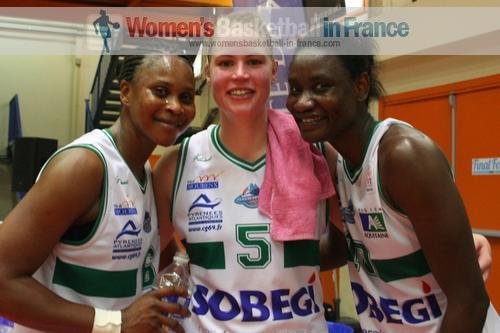 Awa Gueye, Marion Arfelis and Mariame Dia