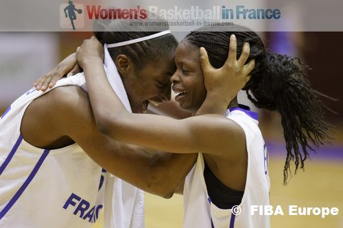 Oliva Epoupa and Awa Sissoko  ©  FIBA Europe