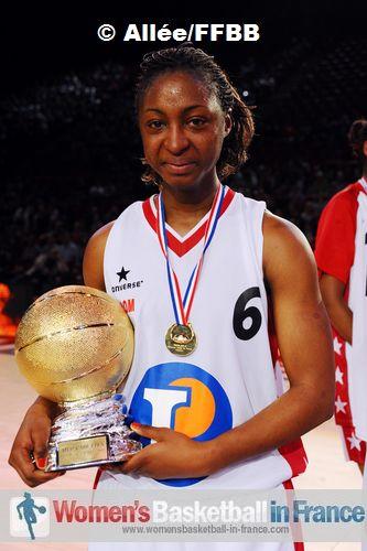 Awa Sissoko - MVP © Allée/FFBB