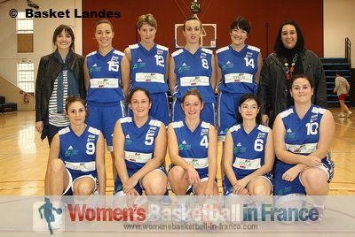 Basket Landes Cadette 2010-2011  © Basket Landes