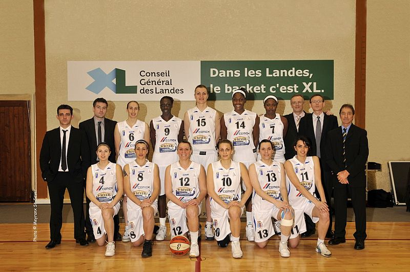 Basket Landes second team photo 2009 © width =