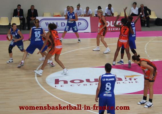 Open LFB match ©womensbasketball-in-france