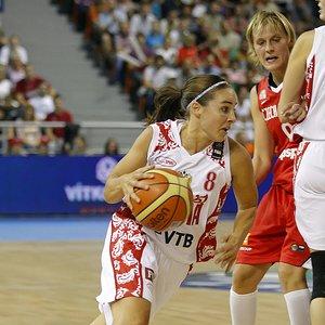 Becky Hammon at the 2010 FIBA World Championship for women © FIBA.com