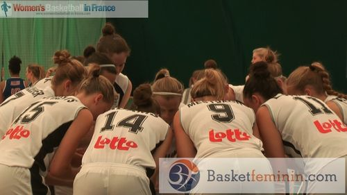 Belgium U20 players in the huddle in Albena