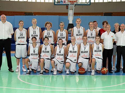 Belgium U16 team picture - Naples 2009 © Ciamillo-Castoria