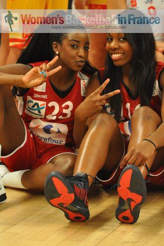 Binta Drammeh and Marie-Bernadettte Mbuyamba