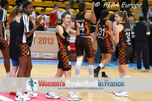 Bourges Basket players