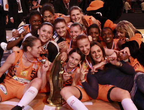 2010 Coupe de France winners Bourges Baskett