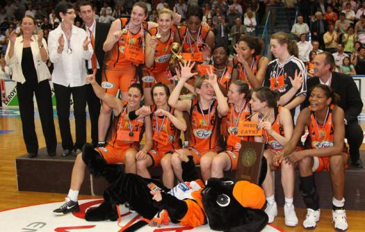 Bourges Basket win the title © Bourges Basket