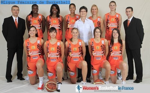 Bourges Basket © Ligue Féminine de Basketball