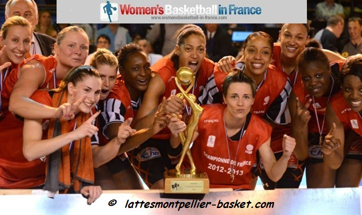 2013 LFB Champions Bourges Basket