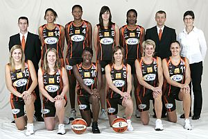 Bourges Basket 2008-20009 © Ligue Féminine de BasketBall