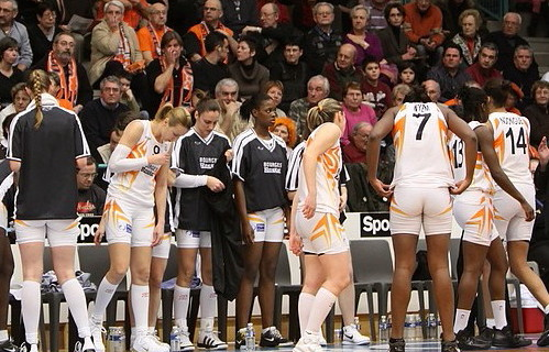Bourges Basket and supporters  © Olivier Martin