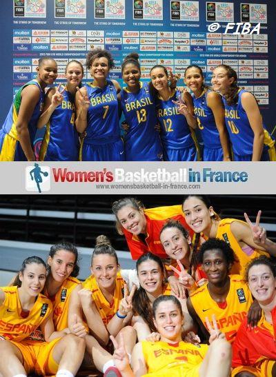 2013 Brazil U19 Women -  Spain U19 Women