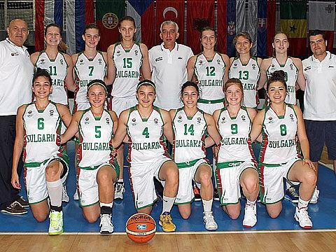 Bulgaria U18 team in Miskolc 2013