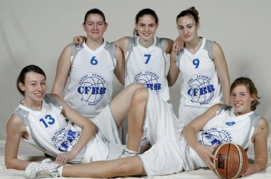 Chloé Westelynck, Eléanore Grossemy, Isabelle Strunc, Héléna Akmouche  and Sophie Watrelot © INSEP - CFBB