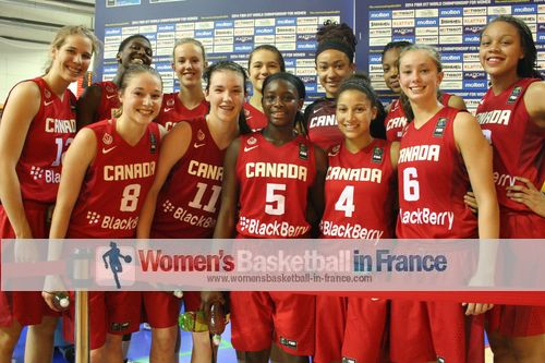 Canada happy to play for fifth place at the FIBA u17 World Championship