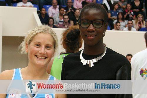 Caroline Aubert Open LFB game MVP