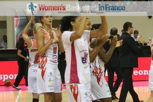 Charleville-Mézières  player celebrate again in Paris (Open LFB 2013)