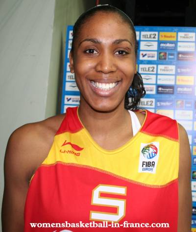 Cindy Lima at EuroBasket Women 2009 © womensbasketball-in-france