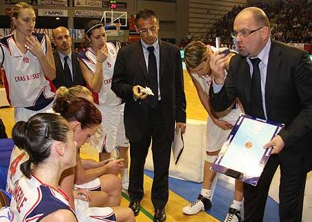 Cras Basket playing in the EuroCup in 2009  © FIBA Europe
