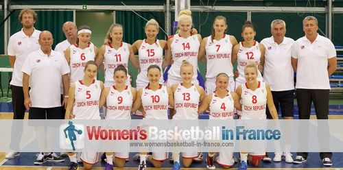 The CZech Republic U16 team picture in Bulgaria