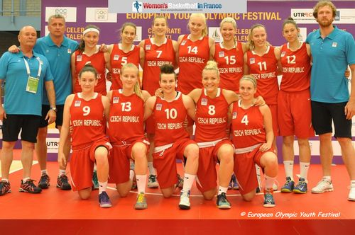Czech Republic 2013 European Youth Olympic Festival  Women's Champions