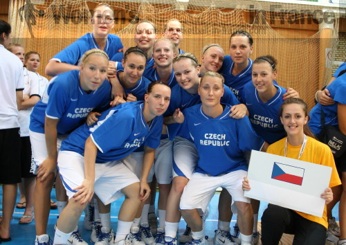 Czech Republic  U20 in Macedonia © womensbasketball-in-france.com
