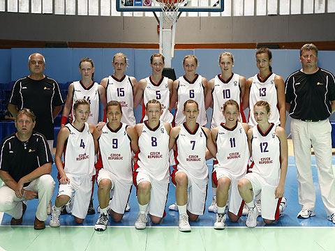 The Czech Republic U16 team picture - 2009 © Ciamillo-Castoria
