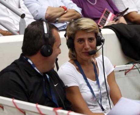 Didier Servant and Cathy Melain © Bellenger/IS/LFB