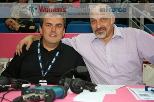 Didier Servant and Ivano Ballarini  © womensbasketball-in-france.com